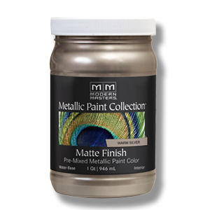 Modern Masters Matte Metallic Paint Collection