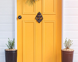 Front Door Paint | Optimistic | by Colour Saturated Life