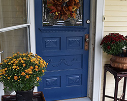 Front Door Paint | Calm | by Designer's Sweet Spot