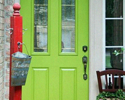 Front Door Paint | Fortunate | by Dukes & Duchesses