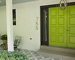Front Door Paint | Fortunate | by Bella Tucker