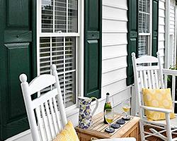 ... Front Door Paint | Natural | Shutters ...