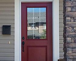 Modern Masters Homeowners Front Door Paint - Painting-an-exterior-door