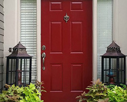 Front Door Paint | Passionate | by The Magic Brush