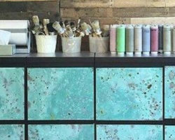 Metal Effects | Green Patina Finish | by The Painted Bench Hamilton