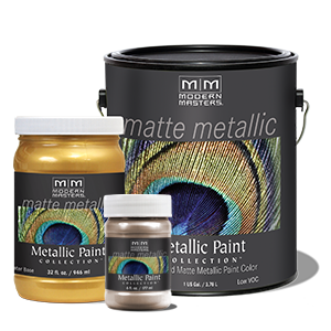 Matte Metallic Paints