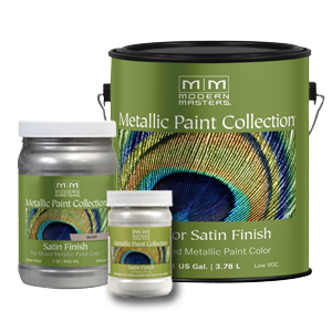 Modern Masters Metallic Paint Collection Satin Sheen